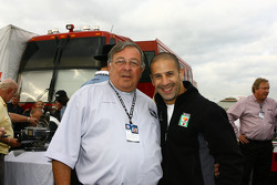 Father Phil celebrates 40 years of ministry with Tony Kanaan