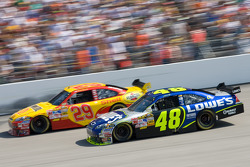 Kevin Harvick and Jimmie Johnson