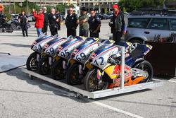 Red Bull Indianapolis GP Kick Start Celebration