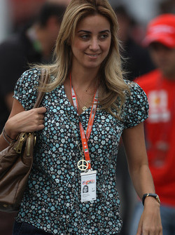 Rafaela Bassi, Girl Friend, Wife of Felipe Massa