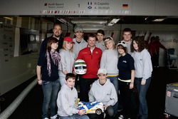 Allan McNish and friends