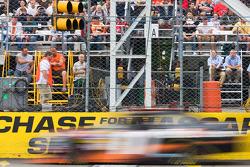 Denny Hamlin at speed