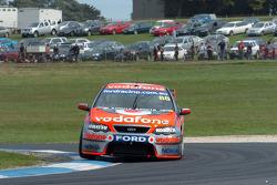 Fabrizio Gioranardi at the wheel of the No 88 car