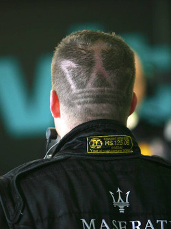 Maserati hair cut