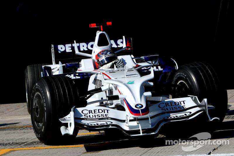Marco Asmer, Test Driver, BMW Sauber F1 Team, F1.08 at Jerez ...