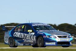 James Courtney, David Besnard (Jeld-Wen Motorsport Ford Falcon BF)