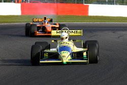 #31 Henk De Boer (NL) Racing for Business, F1 Coloni FC188 Cosworth 3.5 V8, and #20 Gary Woodcock (GB) WB Racing, F1 Arrows A22 Hart 3.0 V10