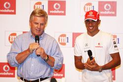 M1 and Vodafone Welcomes Lewis Hamilton, McLaren Mercedes to Singapore