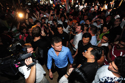 Red Bull Party at Sentosa Island: David Coulthard