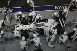 Robert Kubica, BMW Sauber F1 Team, F1.08, Pitstop