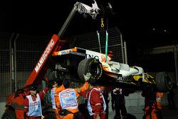 Fernando Alonso, Renault F1 Team had mechanical problems