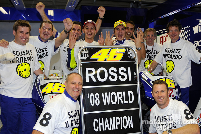 Platz 8: Valentino Rossi (2008, Yamaha)