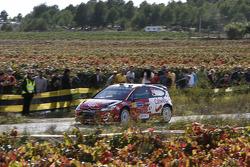 Urmo Aava and Kuldar Sikk, Citroen C4 WRC