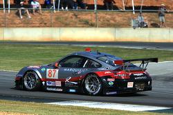 #87 Farnbacher Loles Porsche 911 GT3 RSR: Dirk Werner, Bryce Miller, Jorg Hardt