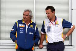 Flavio Briatore, Renault F1 Team, Team Chief, Managing Director, Steve Nielsen