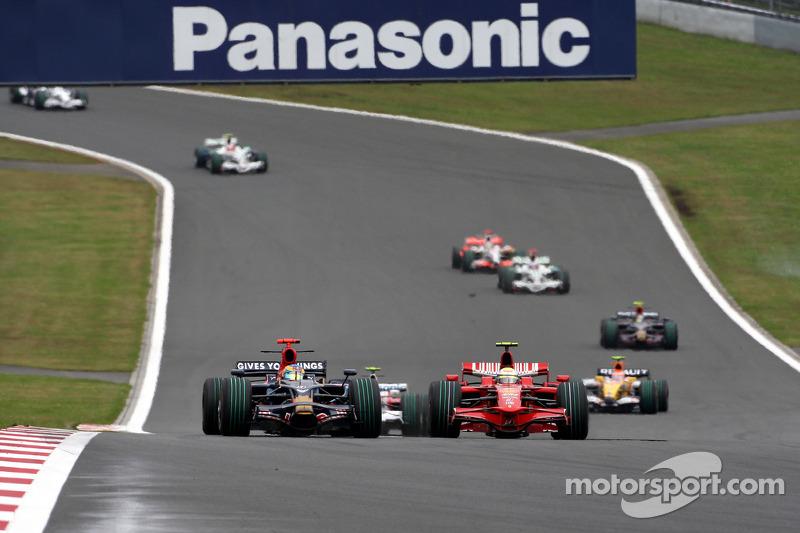 Sébastien Bourdais, Scuderia Toro Rosso, Felipe Massa, Scuderia Ferrari