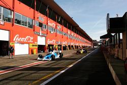 #65 Alain De Blandre, CART Lola, #11 Walter Colacino, IRL G-Force