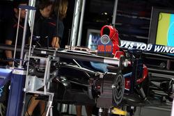 The car of Sebastian Vettel, Scuderia Toro Rosso
