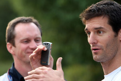 Mark Webber and chief engineer Paul Monaghan