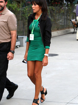 Raquel Rosario Wife of Fernando Alonso