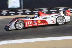 #2 Audi Sport North America Audi R10 TDI: Lucas Luhr, Marco Werner