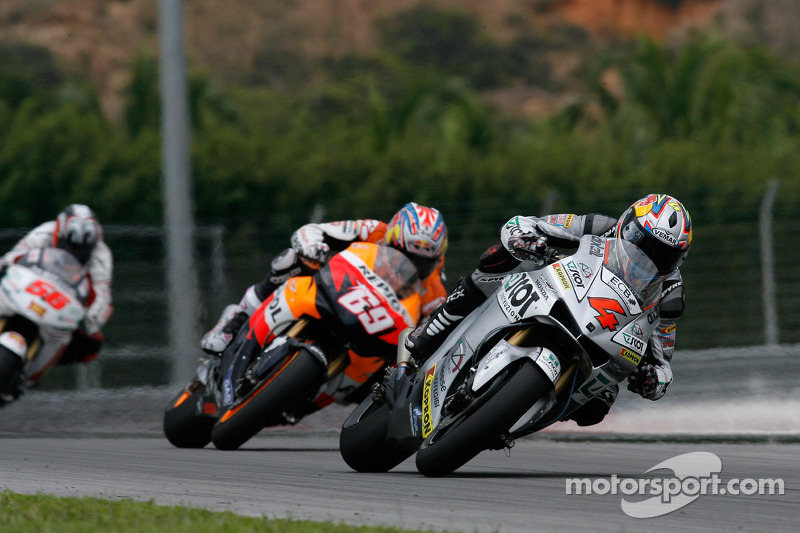 Andrea Dovizioso and Nicky Hayden