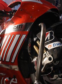 Detail of Casey Stoner's Ducati