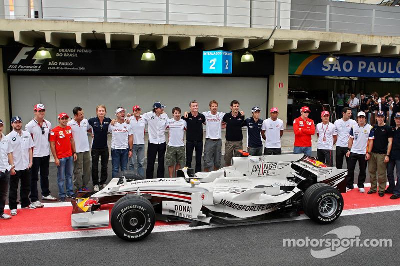 2008 год, специальная раскраска на Гран При Бразилии