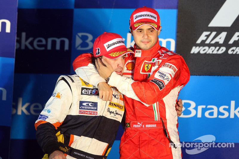 Felipe Massa e Fernando Alonso