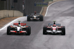 Giancarlo Fisichella, Force India F1 Team, Timo Glock, Toyota F1 Team