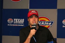 Sam Hornish Jr. in the Raybestos Rookie Contender Press Conference