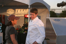 Carl Edwards and Rachel Ray