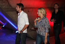 End of season party, Memorial da America Latina: Jenson Button and company