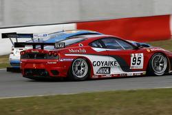 #95 Advanced Engineering Ferrari F430: Matias Russo, Luis Perez Companc, #33 Jetalliance Racing Aston Martin DB9: Karl Wendlinger, Ryan Sharp
