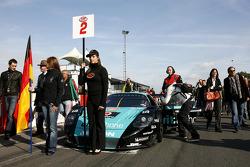 Vitaphone Racing Team Maserati MC 12, Miguel Ramos and Alexandre Negrao
