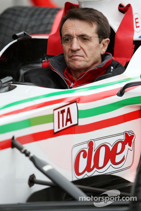Piercarlo Ghinzani, Seat Holder A1 Team Italy at Chengdu