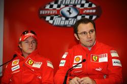 Press conference: Kimi Raikkonen and Stefano Domenicali