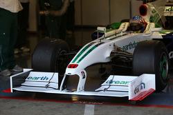 Alexander Wurz, Test Driver, Honda Racing F1 Team, running a 2009 interim front wing