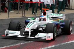 Jenson Button, Honda Racing F1 Team, Interim 2009 car