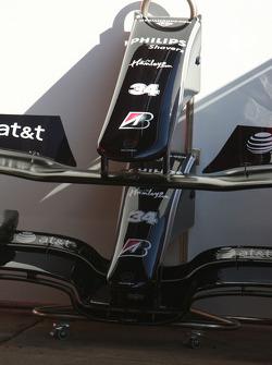 WilliamsF1 Team front wing comparison