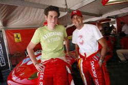 Henri Moser and Niki Cadei