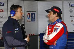 Sébastien Loeb with Christophe Besse