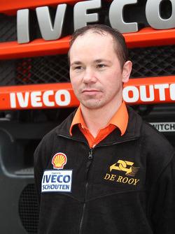 Team de Rooy: Peter van Eerd, assistance truck #858