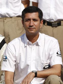 photoshoot de l'équipe Ocean Racing Technology  : Jose Guedes, manager de l'équipe