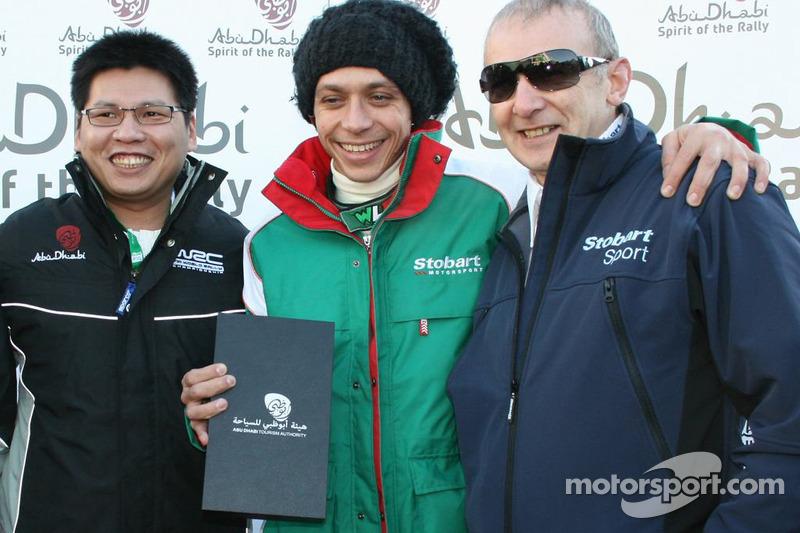 Valentino Rossi, Stobart VK M-Sport Ford Rally Team