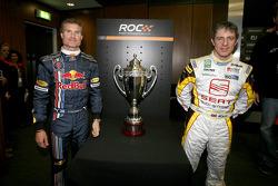 David Coulthard and Jason Plato