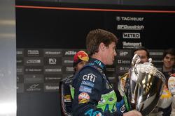 Carl Edwards with ROC Trophy
