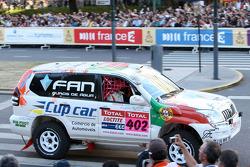 #402 Toyota Land Cruiser 120: Martine Campos Pereira and Jose Manuel Teixeira Marques