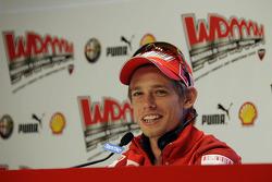 Press conference: Casey Stoner, Ducati