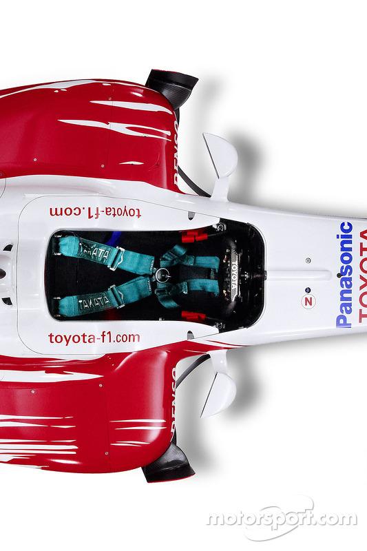 Toyota TF109: Cockpit